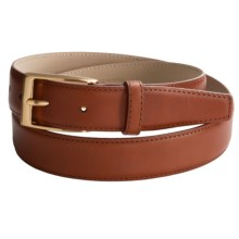 Di Stefano Calfskin Belt (For Men) in Cognac - Closeouts