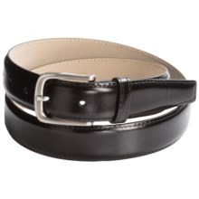 Di Stefano Soft Calfskin Belt (For Men) in Black - Closeouts
