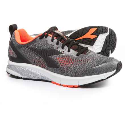 Diadora 2 Running Shoes (For Men) in Silver Dd/Black - Closeouts