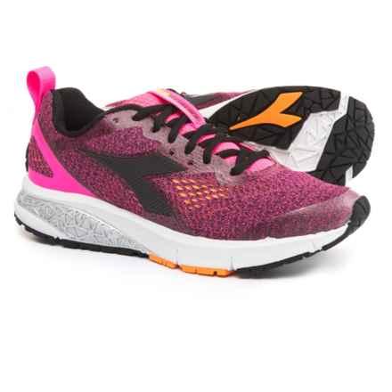 Diadora Kuruka 2 Running Shoes (For Women) in Fluo Pink/Black - Closeouts