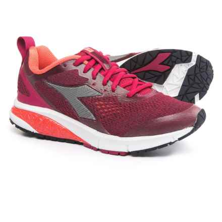 Diadora Kuruka 2 Running Shoes (For Women) in Sangria/Silver - Closeouts
