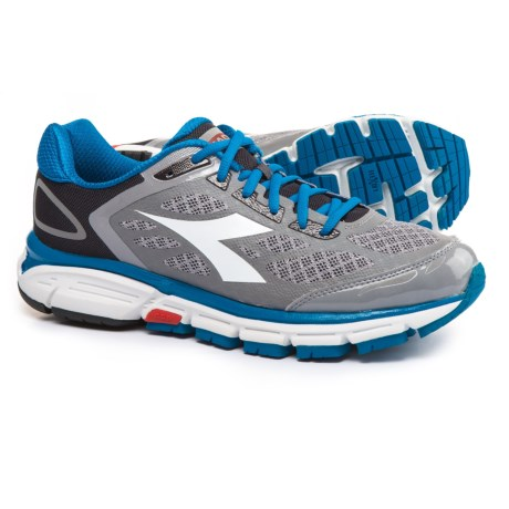 Diadora M.Shindano 5 Running Shoes (For Men) in Ice Gray/White