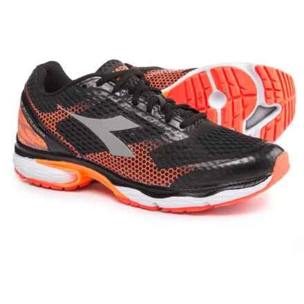 Diadora N-6100-4 Running Shoes (For Men) in Dark Smoke/Silver - Closeouts