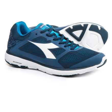 Diadora X Run Running Shoes (For Men) in Saltire Navy/White - Closeouts
