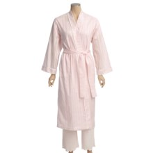 Diamond Tea Cotton Voile Robe (For Women) in Blush - Closeouts
