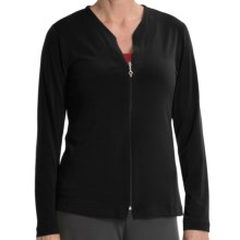 Diamond Tea Voyage Jacket (For Women) in Black - Closeouts