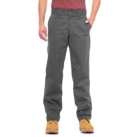 Dickies '67 Industrial Work Pants - Regular Fit, Straight Leg (For Men) in Charcoal - Closeouts