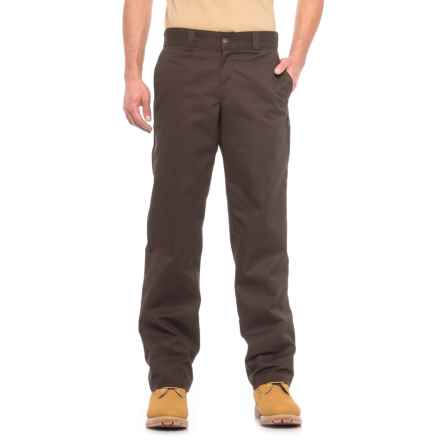 Dickies '67 Industrial Work Pants - Regular Fit, Straight Leg (For Men) in Chocolate Brown - Closeouts