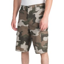 "Dickies 13"" Printed Cargo Shorts - Relaxed Fit (For Men) in Green Camo - Closeouts"