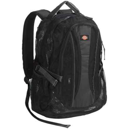 Dickies Basic Mesh Backpack in Black - Overstock