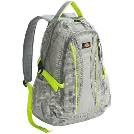 Dickies Basic Mesh Backpack in Grey - Overstock