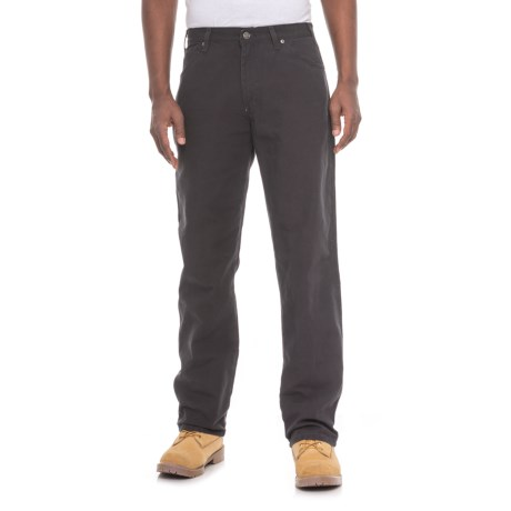 Dickies Carpenter Duck Jeans - Relaxed Fit (For Men) in Black