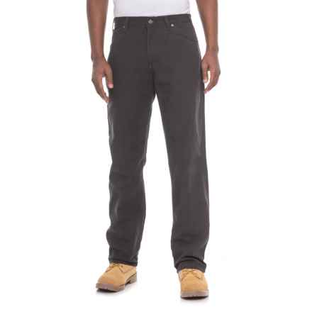 Dickies Carpenter Duck Jeans - Relaxed Fit (For Men) in Rbk Black - 2nds