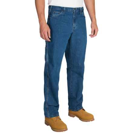 Dickies Carpenter Jeans - Relaxed Fit, Straight Leg (For Men) in Stonewashed - 2nds