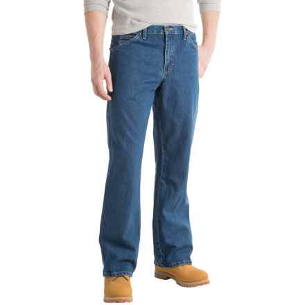 Dickies Carpenter Jeans - Straight Leg, Loose Fit (For Men) in Stonewashed Indigo Blue - 2nds