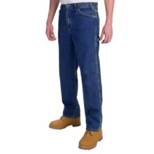 Dickies Carpenter Jeans - Straight Leg, Relaxed Fit  (For Men) in Stonewashed - 2nds