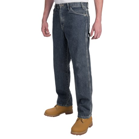 Dickies Carpenter Jeans - Straight Leg, Relaxed Fit  (For Men) in Tinted Heritage Khaki