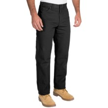 Dickies Carpenter Pants - Cotton Duck, Relaxed Fit (For Men) in Black - 2nds