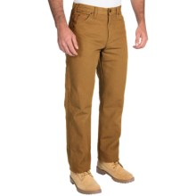Dickies Carpenter Pants - Cotton Duck, Relaxed Fit (For Men) in Brown Duck - 2nds