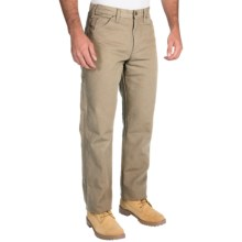 Dickies Carpenter Pants - Cotton Duck, Relaxed Fit (For Men) in Desert Sand - 2nds