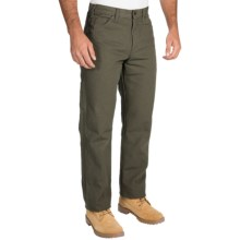 Dickies Carpenter Pants - Cotton Duck, Relaxed Fit (For Men) in Moss - 2nds