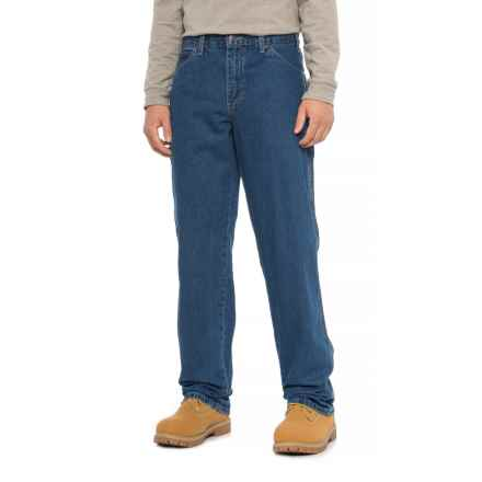 Dickies Carpenter Utility Jeans - Relaxed Fit (For Men) in Stonewashed Indigo - 2nds