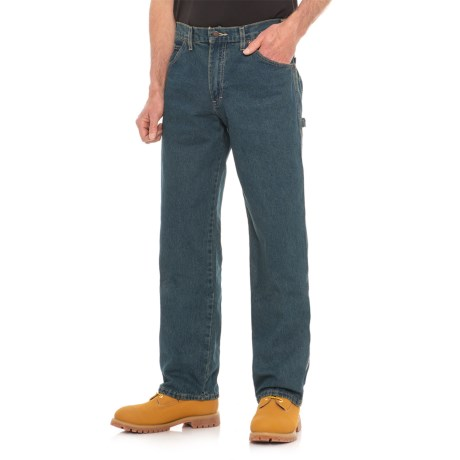 Dickies Carpenter Utility Jeans - Relaxed Fit (For Men) in Tinted Heritage Khaki