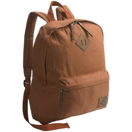 Dickies Classic Canvas Backpack in Brown Duck - Overstock