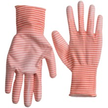 Dickies Coated Garden Gloves (For Women) in Coral Stripe - Closeouts