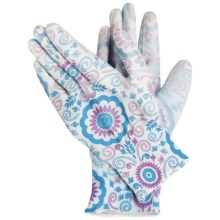 Dickies Coated Garden Gloves (For Women) in White Floral - Closeouts