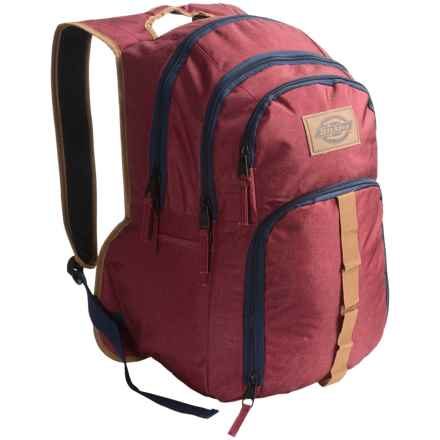 Dickies Cool Backpack in Scarlet Heather - Overstock