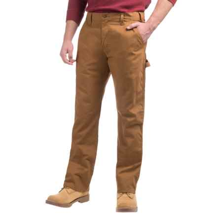 Dickies Cotton Duck Carpenter Pants - Relaxed Fit (For Men) in Rinsed Brown Duck - 2nds