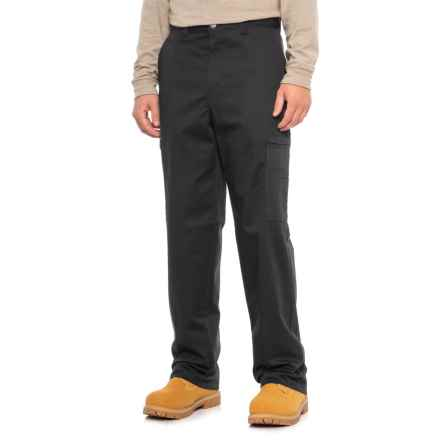 Dickies Cotton Twill Cargo Work Pants (For Men) in Black - 2nds