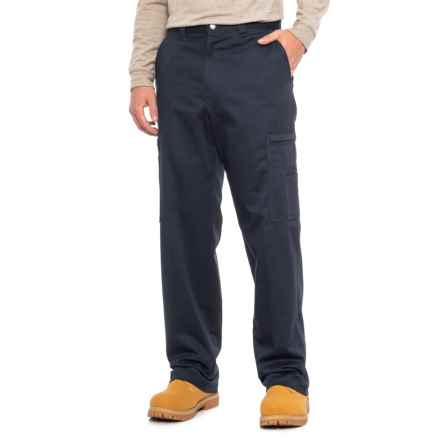 Dickies Cotton Twill Cargo Work Pants (For Men) in Navy - 2nds