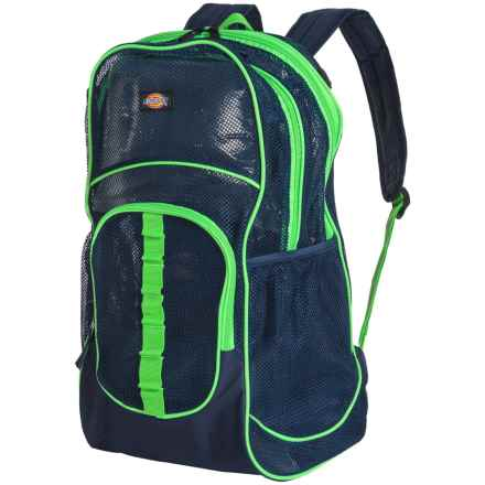 Dickies Deluxe Mesh 37L Backpack in Navy - Closeouts