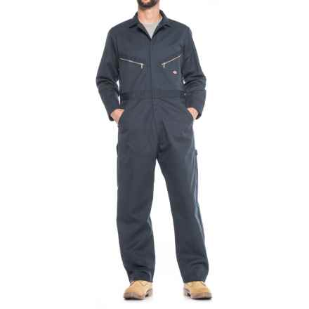 Dickies Deluxe Twill Coveralls (For Men) in Dark Navy - Closeouts