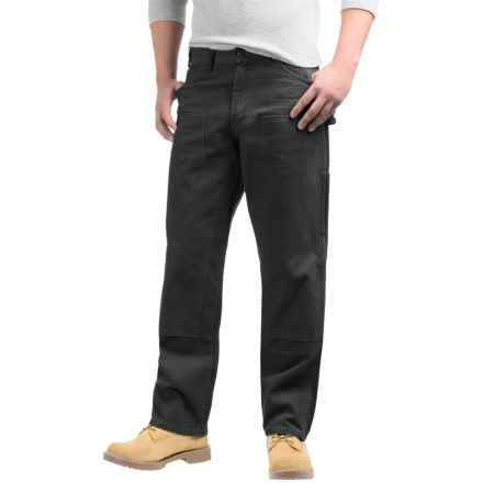 Dickies Double-Front Duck Pants - Relaxed Fit, Straight Leg (For Men) in Black - 2nds