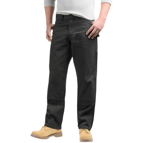 Dickies Double-Front Duck Pants - Relaxed Fit, Straight Leg (For Men) in Black