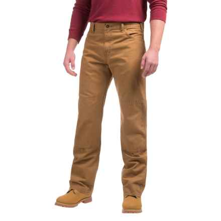 Dickies Double-Knee Carpenter Duck Jeans - Relaxed Fit, Straight Leg (For Men) in Brown Duck - Closeouts