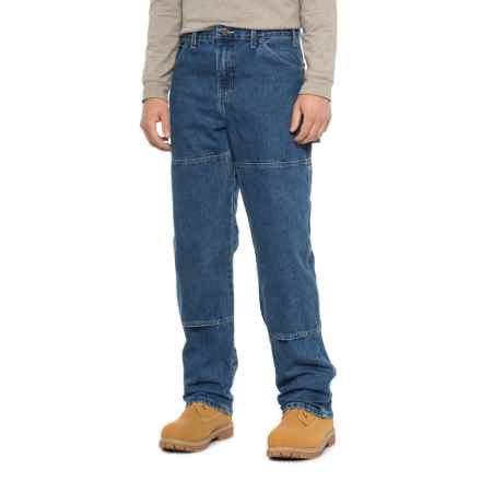 Dickies Double-Knee Carpenter Utility Jeans - Relaxed Fit (For Men) in Indigo Blue - 2nds