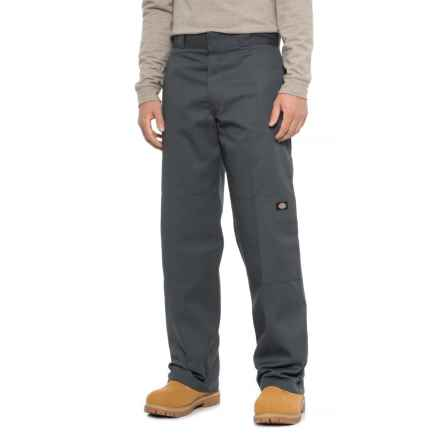 Dickies Double-Knee Twill Work Pants - Loose Fit (For Men) in Charcoal - 2nds