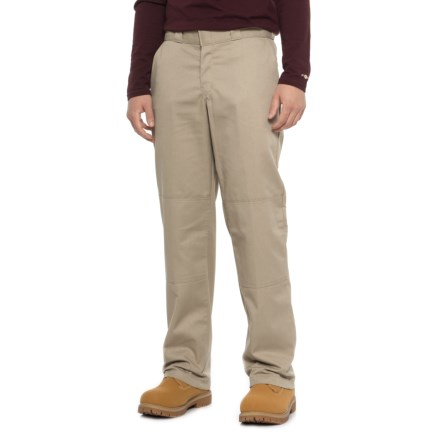 3b8a94099779e Dickies Double Knee Twill Work Pants - Relaxed Fit (For Men) in Desert Sand