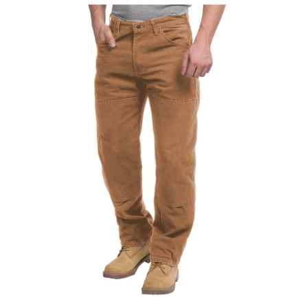 Dickies Double-Knee Workhorse Jeans - Sanded Duck (For Men) in Brown Duck - 2nds