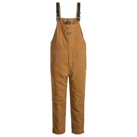 Dickies Duck Bib Overalls - Insulated (For Kids) in Brown Duck - Closeouts