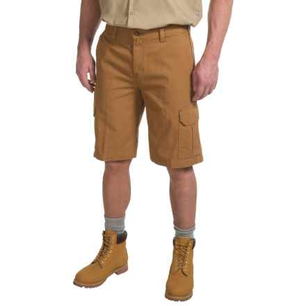 Dickies Duck Cargo Shorts - Relaxed Fit (For Men) in Brown Duck - 2nds