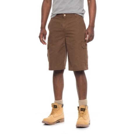 Dickies Duck Cargo Shorts - Relaxed Fit (For Men) in Rinsed Timber