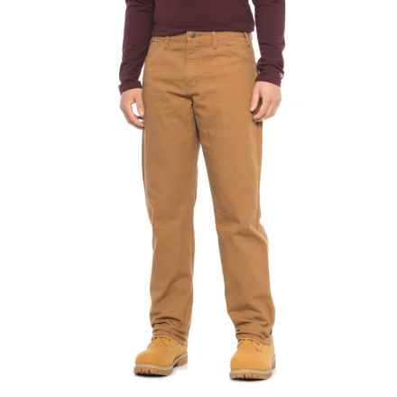 Dickies Duck Carpenter Jeans - Relaxed Fit (For Men) in Rinsed Brown Duck - 2nds
