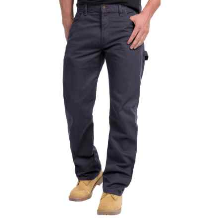 Dickies Duck Carpenter Jeans - Relaxed Fit, Straight Leg (For Men and Big Men) in Rinsed Diesel Grey - 2nds