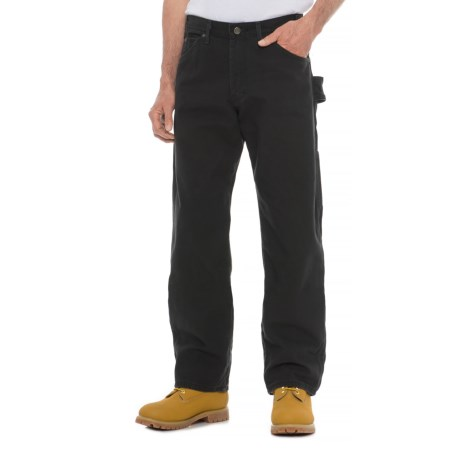 Dickies Duck Tool Pants - Relaxed Fit, Straight Leg (For Men) in Rinsed Black