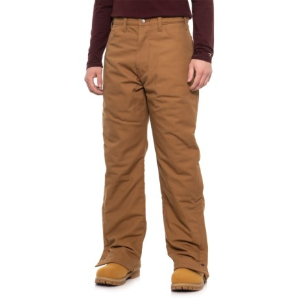 3cd03717 Dickies Flame-Resistant Insulated Duck Utility Pants (For Men) in Brown  Duck -
